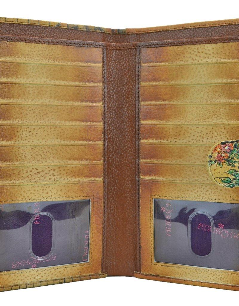 ANUSCHKA 1113 VTB CELL PHONE CARD CASE WALLET VINTAGE BIKE