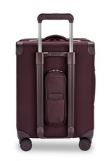 BRIGGS & RILEY U121CXSPW-64 PLUM INTERNATIONAL CARRY-ON EXPANDABLE WIDE BODY SPINNER