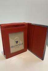 ANUSCHKA ANUSCHKA 3004 MPL  RFID LEATHER WALLET TRIFOLD MAPLE LEAF