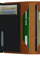 SECRID SLIMWALLET RFID PERFORATED COGNAC
