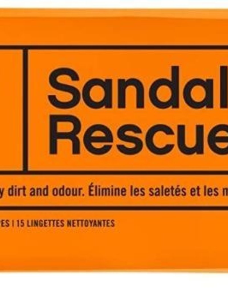 SANDAL RESCUE CLEANING WIPES 15PC