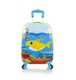 HEYS PINKFONG BABY SHARK SPINNER LUGGAGE