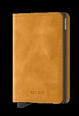 SECRID SLIMWALLET RFID VINTAGE OCHRE