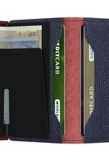 SECRID MINIWALLET RFID RANGO  RED BORDEAUX