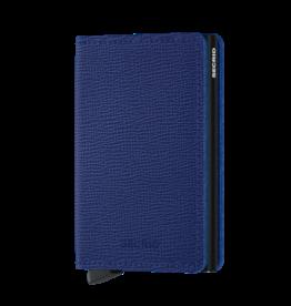 SECRID SLIMWALLET RFID CRISPLE BLUE