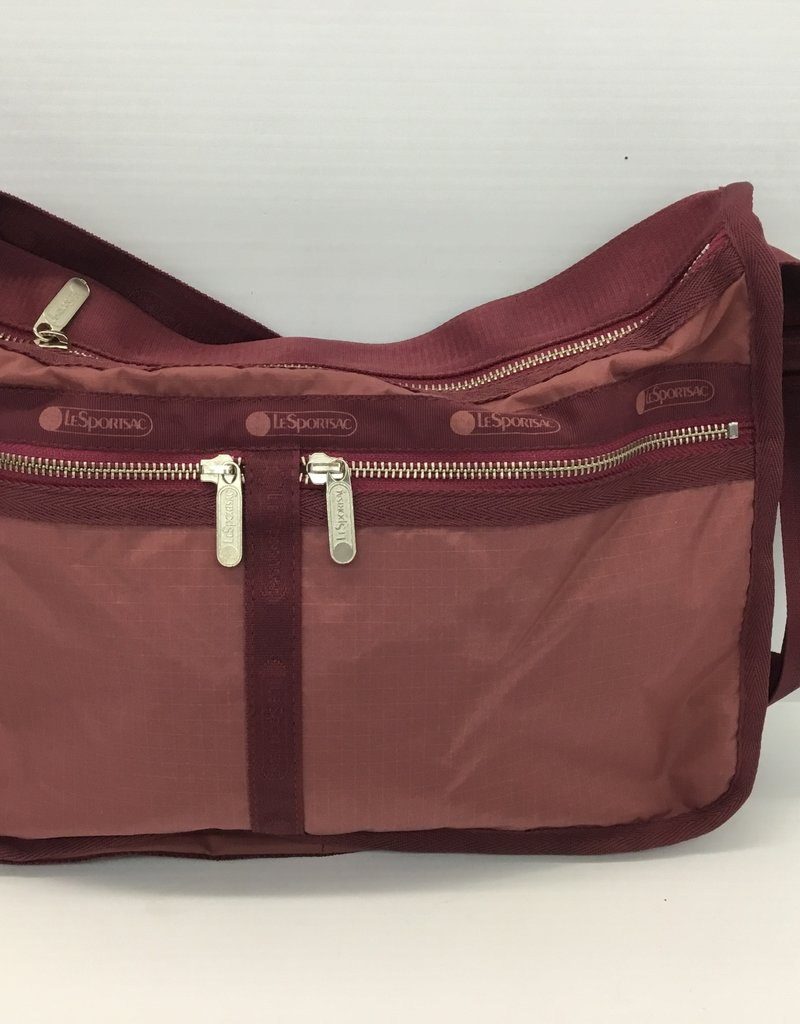 LESPORTSAC 7507 DELUXE EVERYDAY BAG HERITAGE RED