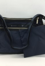 LESPORTSAC 7507 DELUXE EVERYDAY BAG HERITAGE NAVY  F322