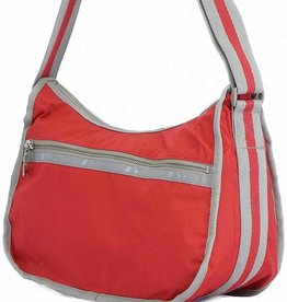 LESPORTSAC CITY HOBO CLASSIC RED