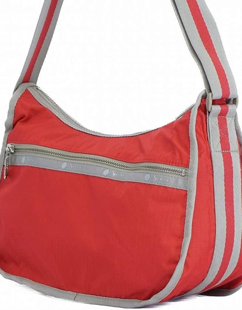 LESPORTSAC 2278 CITY HOBO CLASSIC RED