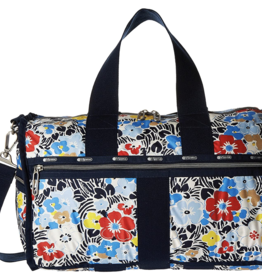 LESPORTSAC WEEKENDER OCEAN BLOOM NAVY