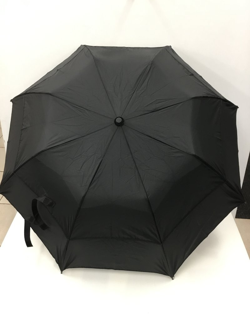 KNIRPS OKB1010 VENTED TELESCOPIC UMBRELLA BLACK