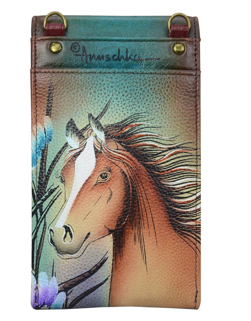ANUSCHKA 1154 RFID SMARTPHONE CROSSBODY FRS FREE SPIRIT