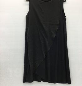 2245 BAMBOO DRESS DANYA BLACK LNBF