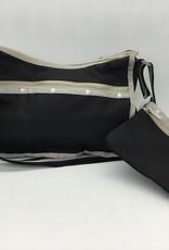 LESPORTSAC CLASSIC HOBO LESPORTSAC  BLACK HERITAGE 7520 F247