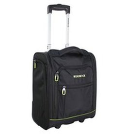 16 INCH TOTE ON WHEELS BLACK C0652-16