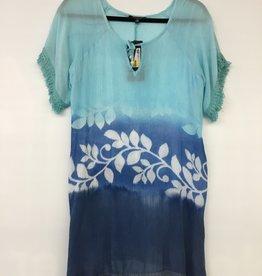 PAPA FASHIONS IMPORTS P2693/18 LADIES TOP  1139 BABY BLUE