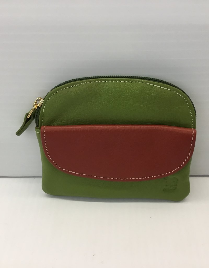 2206 COIN PURSE & RFID CARD HOLDER GREEN