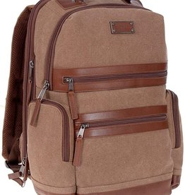 CANVAS BACKPACK A2150 BROWN
