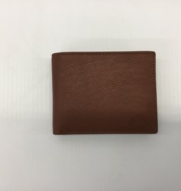MANCINI LEATHER RFID LEATHER WALLET WITH REMOVABLE PASSCASE