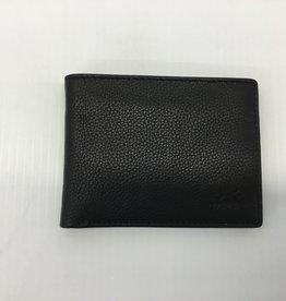 MANCINI LEATHER RFID LEATHER WALLET BLACK 26865