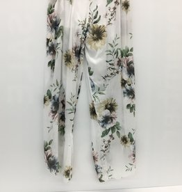 PANT 7237 F-23 PRINT  WHITE MADE IN ITALY