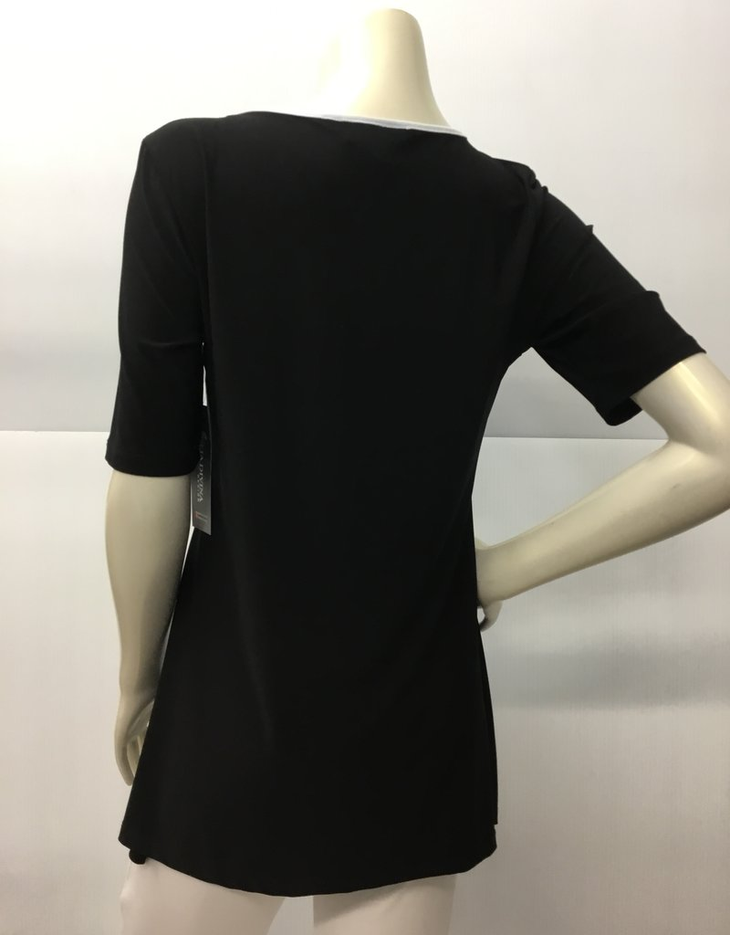 TOP BLACK AND WHITE XXL 3939