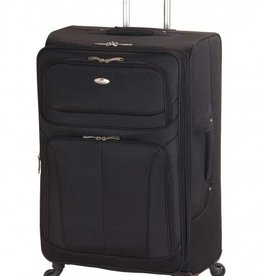 MANCINI LEATHER FEATHER LITE 21  BLACK UPRIGHT CARRYON