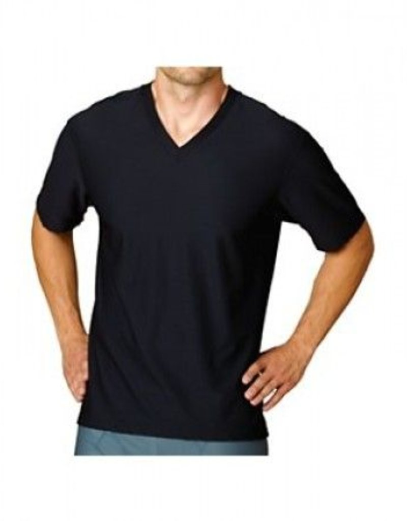 EXOFFICIO 12411376 SMALL BLACK V NECK