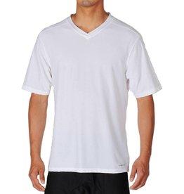 EXOFFICIO MEDIUM WHITE V NECK T SHIRT