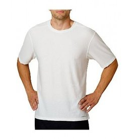 EXOFFICIO XXL WHITE ROUND NECK TEE