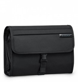 BRIGGS & RILEY BLACK DELUXE TOILETRY