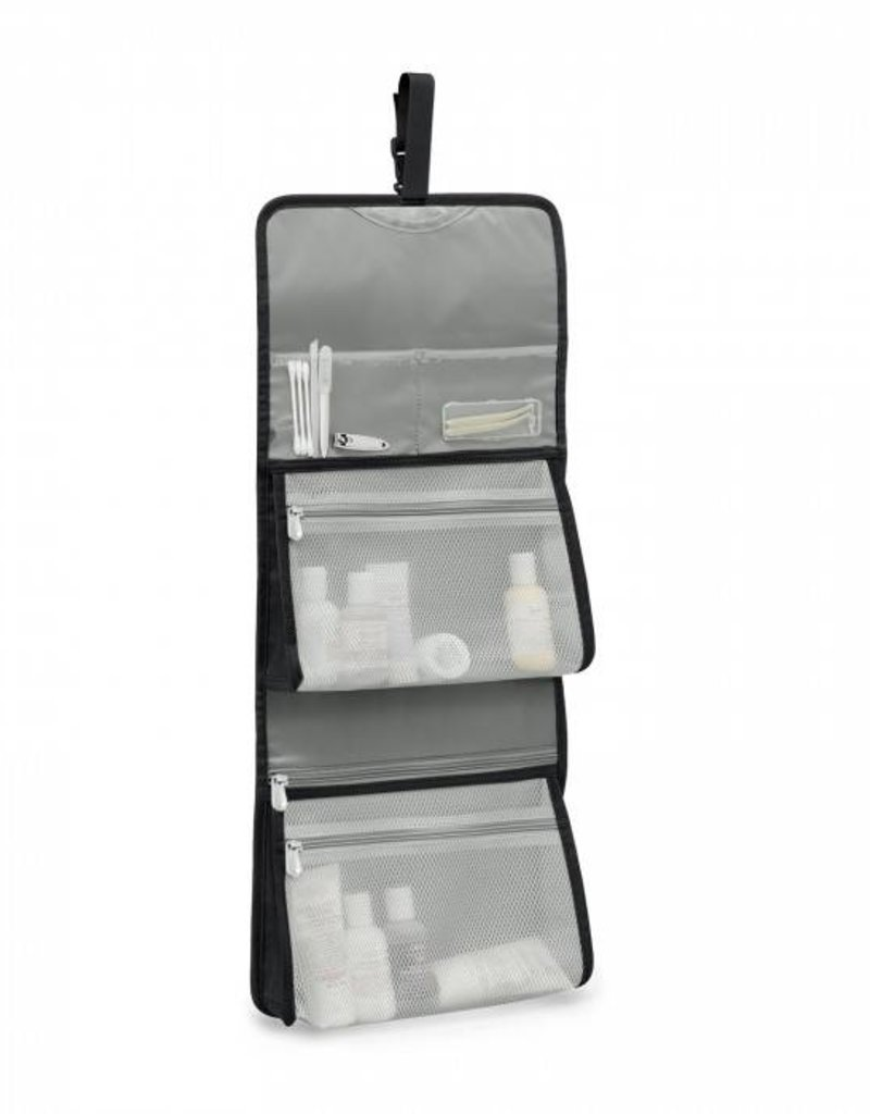 BRIGGS & RILEY 1026-4 BLACK DELUXE TOILETRY