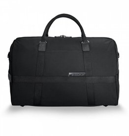 BRIGGS & RILEY BLACK MEDIUM DUFFLE