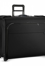 BRIGGS & RILEY U176-4 BLACK DELUXE WHEELED GARMENT BAG