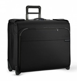 BRIGGS & RILEY BLACK DELUXE WHEELED GARMENT BAG
