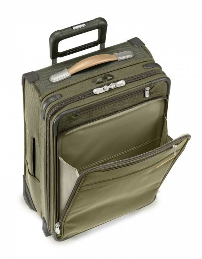 BRIGGS & RILEY U119CX-7 OLIVE COMMUTER EXPANDABLE UPRIGHT