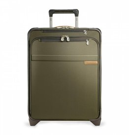 BRIGGS & RILEY OLIVE CARRYON COMMUTER EXPANDABLE UPRIGHT