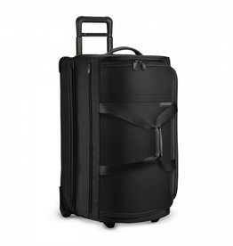 BRIGGS & RILEY BLACK MEDIUM UPRIGHT DUFFLE
