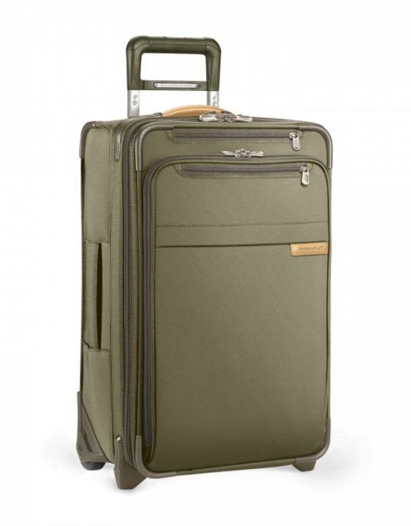 BRIGGS & RILEY U122CX-7 OLIVE DOMESTIC U.S. CARRYON EXPANDABLE UPRIGHT