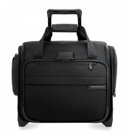 BRIGGS & RILEY BLACK ROLLING CABIN BAG