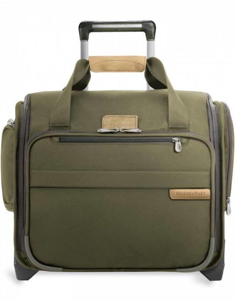 BRIGGS & RILEY U116-4 BLACK ROLLING CABIN BAG