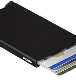 SECRID CARDPROTECTOR RFID BLACK METAL