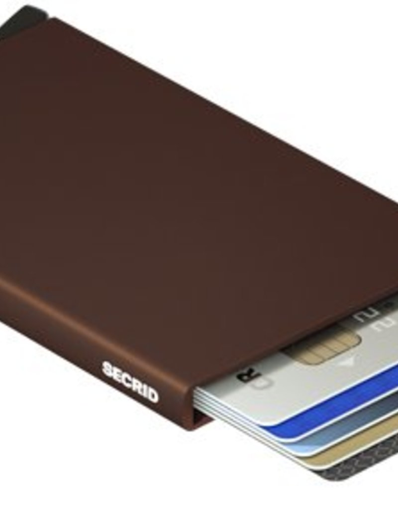 SECRID CARDPROTECTOR  RFID  BROWN METAL