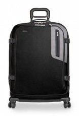 BRIGGS & RILEY BU226SPX-4 BLACK EXPLORE MEDIUM EXPANDABLE SPINNER