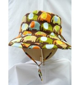 PUFFIN GEAR XS ELEPHANT HAT BROWN