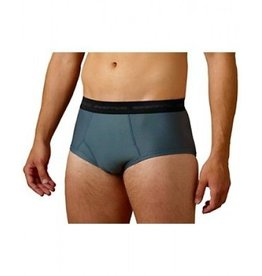 EXOFFICIO SMALL CHARCOAL GNG BRIEF