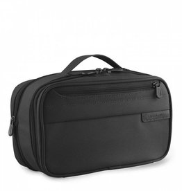 BRIGGS & RILEY BLACK EXPANDABLE TOILETRY