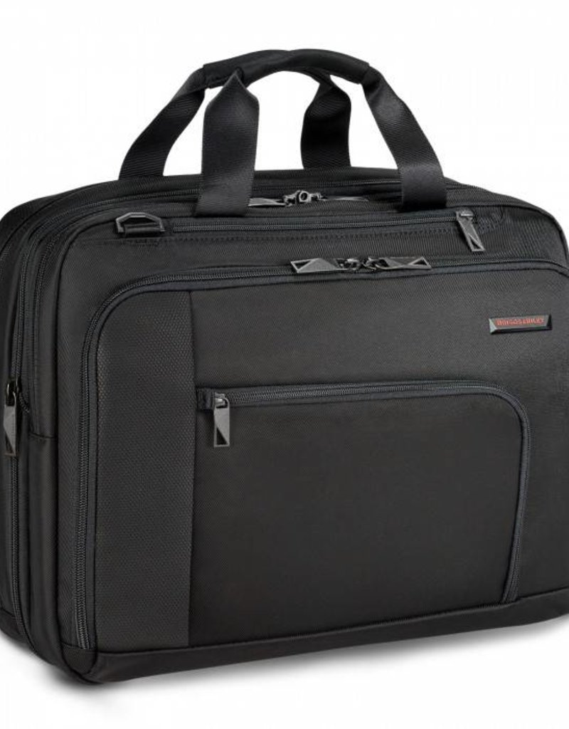 BRIGGS & RILEY VB201X-4 BLACK ADAPT EXPANDABLE BRIEF