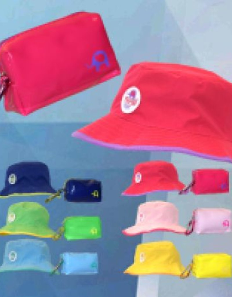 FTOPNVY  KIDS FLOPPY REVERSIBLE HAT