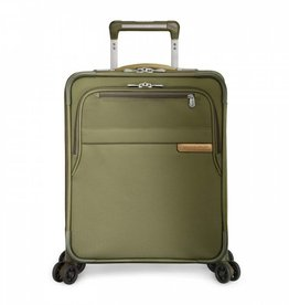 BRIGGS & RILEY OLIVE INTERNATIONAL CARRYON EXPANDABLE WIDE BODY UPRIGHT